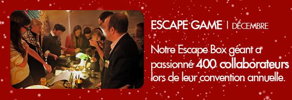 Escape Game 400 collaborateurs