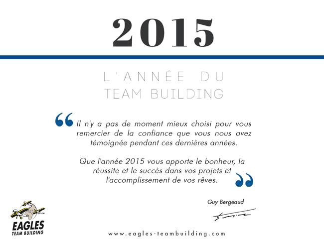 Meilleurs voeux pour 2015