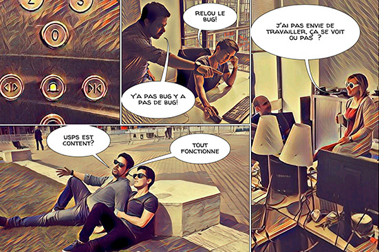 Team Building photos Comic Strip Adventure 123
