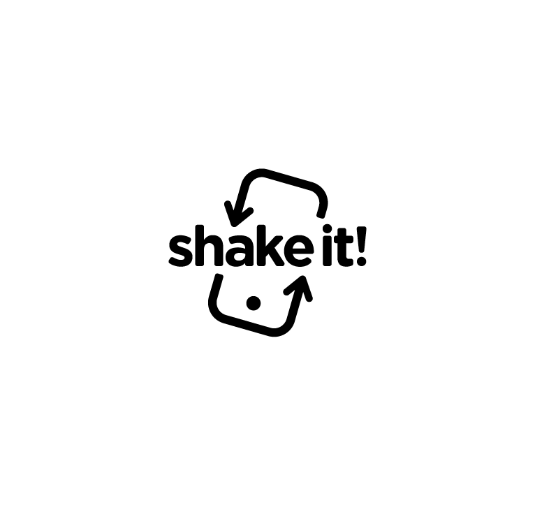 Team Building logo Shake it!