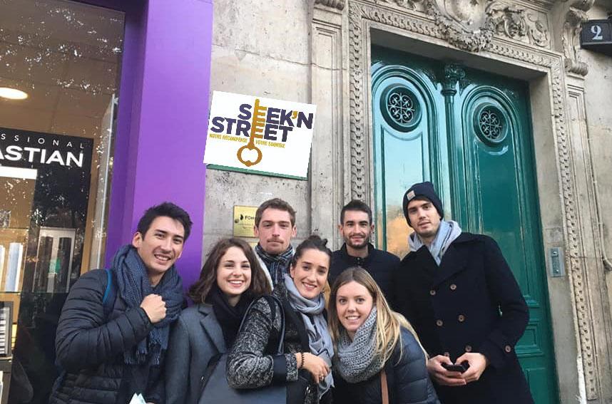 Team Building photos Seek'n Street 136