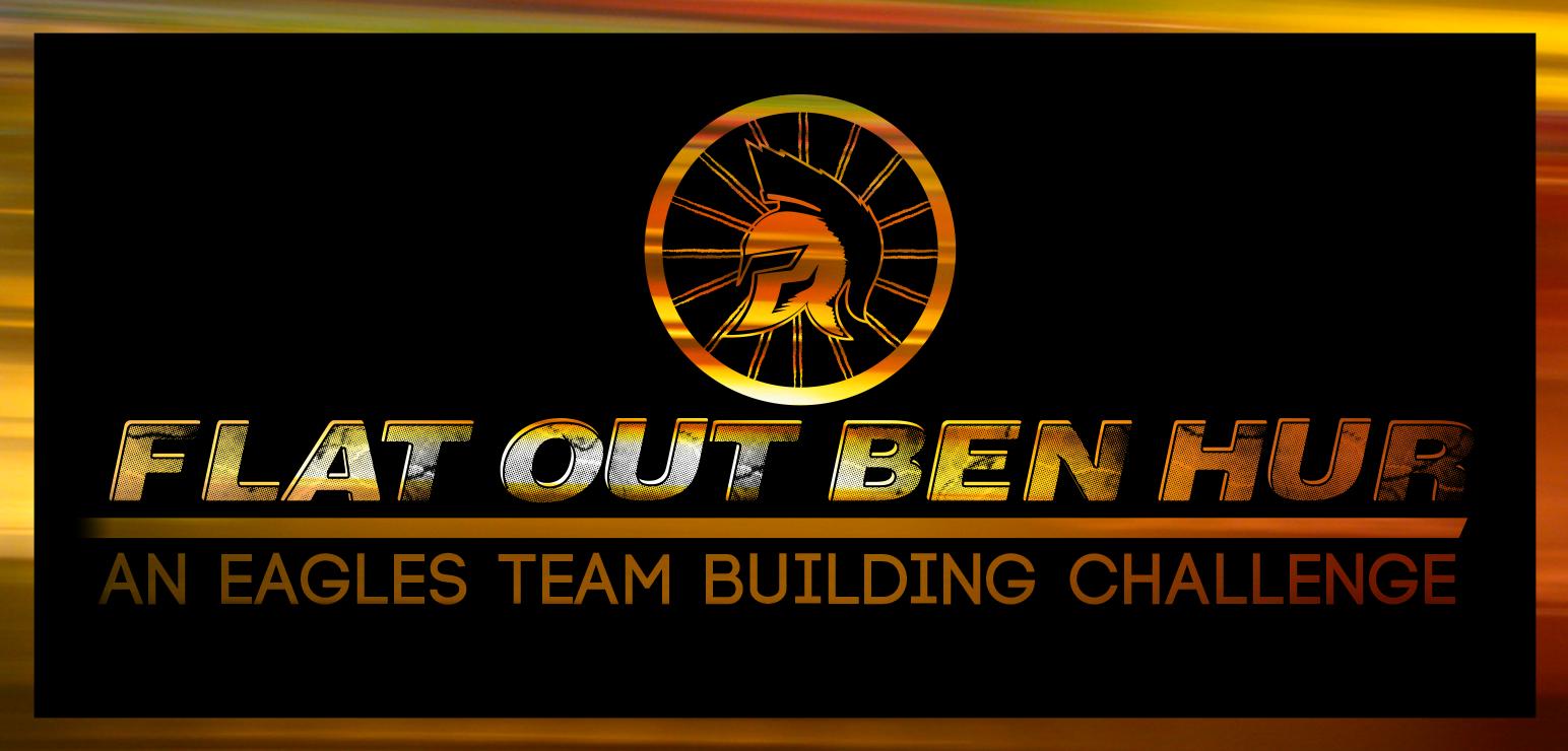 Team Building logo Flat Out Ben Hur