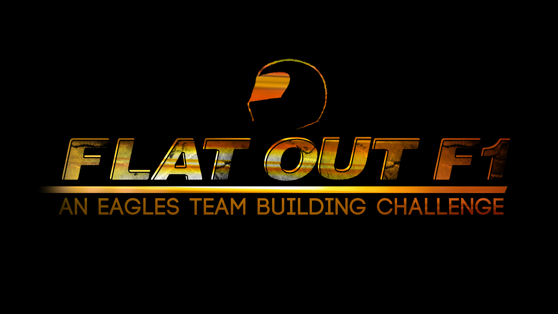 Team Building logo Flat Out F1